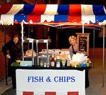 Fish & Chips stand at Liverpool Event