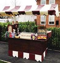 Large Hot Dogs stand for Event Hire in Leeds