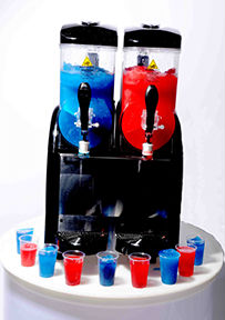 Slush Machine hire for Children's Parties by Delicious Fruits and Fountains